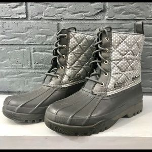 SPERRY TOP SIDER QUILTED DUCK BOOTS